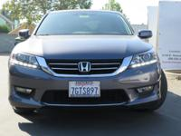 Options:  2015 Honda Accord Sedan Ex-L|Gray|3.5L V6
