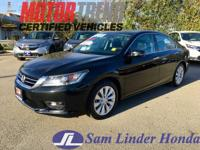 Options:  2015 Honda Accord Exl/Navi|Advertised Price