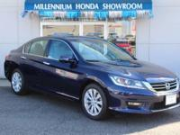 This Honda Certified Accord Sedan EX-L  is a New