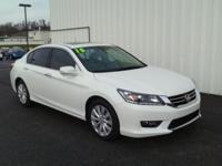 2015 Honda Accord CARFAX One-Owner. Odometer is 3258