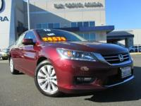 LOW MILES! ONE OWNER! NAVIGATION!! The 2015 Accord has