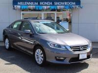 This Honda Certified Accord Sedan 4dr V6 Auto EX-L is