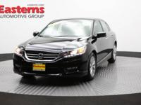 2015 4D Sedan Black 2015 Honda Accord EX-L FWD 3.5L V6