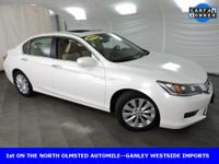 Recent Arrival! Honda Accord 2015 EX-L White Orchid