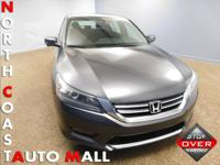 2015 Honda Accord EX Sedan 2.4L l-4 engine 2-speed CVT