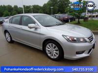 This 2015 Accord sedan is a one owner vehicle with a
