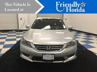 CARFAX One-Owner. Certified. 2015 Honda Accord EX-L FWD
