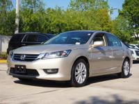 New Price! CARFAX One-Owner. 2015 Honda Accord EX-L