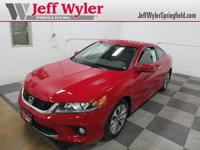 CARFAX One-Owner. San Marino Red 2015 Honda Accord EX-L