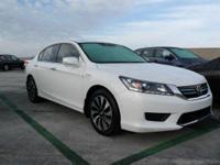 Options:  2015 Honda Accord Hybrid Ex-L|/|V4 2.0 L