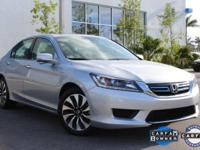 Accord Hybrid EX-L and Honda Certified. Oh yeah! You