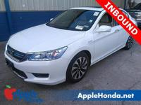 ACCIDENT FREE CARFAX, HONDA PRE OWNED CERTIFIED, ONE