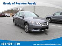 We are proud to present this 2015 Honda ACCORD SEDAN