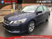 2015 Honda Accord LX with Auxiliary Audio Input,