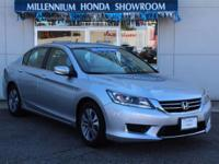 This Honda Certified Accord Sedan 4dr I4 CVT LX is a