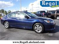 Recent Arrival! 36/27 Highway/City MPG** Blue 2015