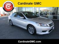 CARFAX One-Owner. Unk 2015 Honda Accord LX FWD CVT 2.4L