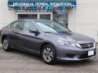 This Honda Certified Accord Sedan LX  has been selected