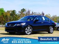 Super low miles!!!! CARFAX One-Owner. Black 2015 Honda