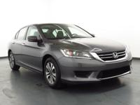 2015 Honda Accord Cloth. 36/27 Highway/City MPG**