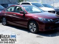 Recent Arrival! Certified. 2015 Honda Accord LX Modern