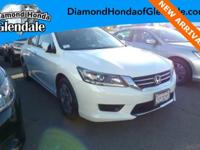Options:  2015 Honda Accord Lx|White|***New