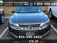 This outstanding example of a 2015 Honda Accord Sedan