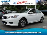 HONDA CERTIFIED! *ONE OWNER* CLEAN CARFAX!, ONLY 16,628