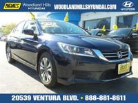 Options:  2015 Honda Accord Sedan Lx|Blue/|V4 2.4 L