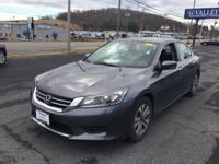Accord LX, 4D Sedan, 2.4L I4 DOHC i-VTEC 16V, CVT, FWD,