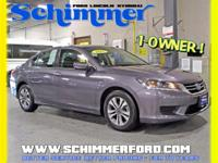 Used 2015 Honda Accord LX FWD in stock at Schimmer Ford