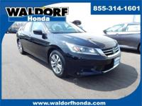 Options:  2015 Honda Accord Lx|Black|**One