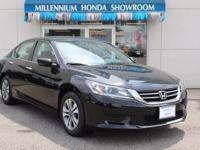 This Honda Certified Accord Sedan 4dr I4 CVT LX is