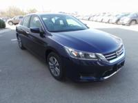 CARFAX One-Owner. Clean CARFAX. 2015 Honda Accord LX