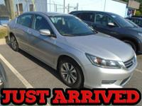 New Arrival! This Honda Accord Sedan is Certified