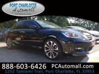 CARFAX One-Owner. 2015 Honda Accord Sport FWD CVT 2.4L