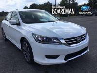 Recent Arrival! White 2015 Honda Accord Sport FWD CVT