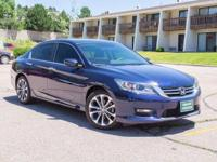 Check out this gently-used 2015 Honda Accord Sedan we