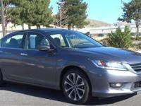 Accord Sport, 4D Sedan, 2.4L I4 DOHC i-VTEC 16V, CVT,