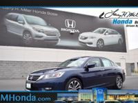 Boasts 35 Highway MPG and 26 City MPG! Dealer Certified