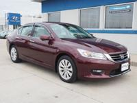 Accord Touring, Honda Certified, Leather, Heated front