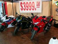 2015 Honda CBR300R HOT HOT DEAL - ONLY 3 IN STOCK