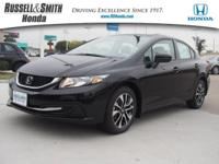 This 2015 Honda Civic Sedan 4dr CVT EX is offered to