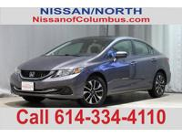 New Price! This 2015 Honda Civic EX in Gray features: