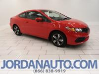 This Civic is a manual and looks very sporty with the