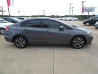 Look at this 2015 Honda Civic Sedan 4dr CVT EX. Its
