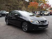 Recent Arrival! 2015 Honda Civic EX Clean CARFAX. Black