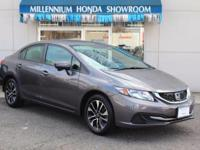 This Honda Certified Civic Sedan 4dr CVT EX is Priced