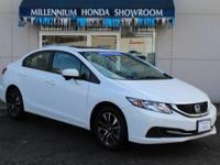 This Honda Certified Civic Sedan 4dr CVT EX  has been