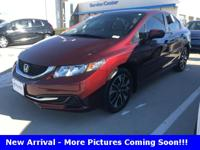 New Price! Recent Arrival! 2015 Honda Civic EX 4D Sedan